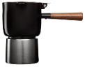 Black Moka Pot