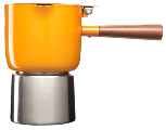Orange Moka Pot