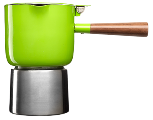 Green Moka Pot