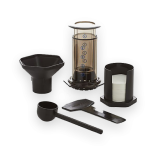 An AeroPress coffeemaker